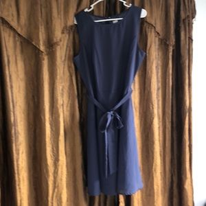 Periwinkle size 14 lined dress